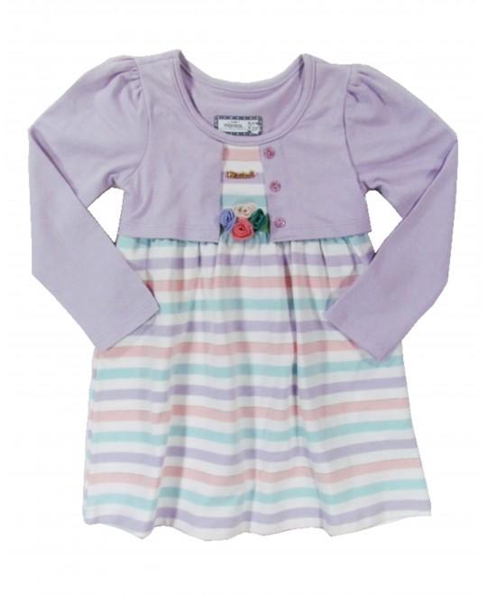Vestido Infantil Quatro Flores - Marisol
