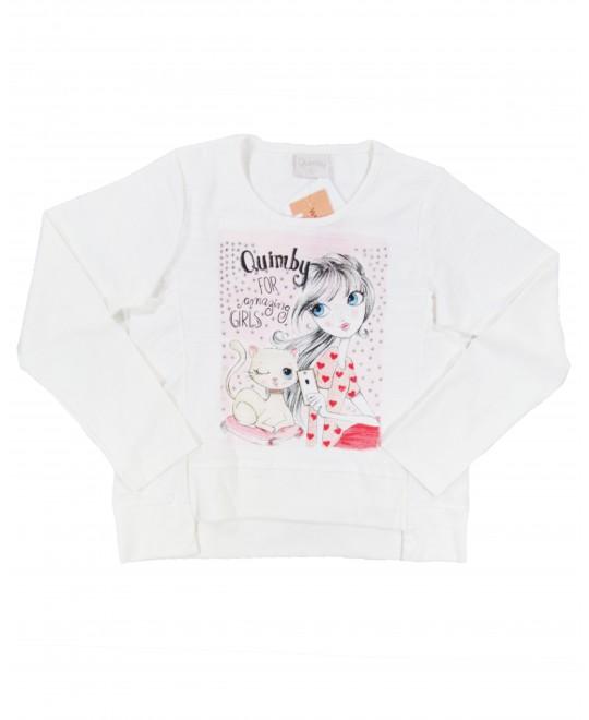 Blusa Infantil Amazing Girls - Quimby