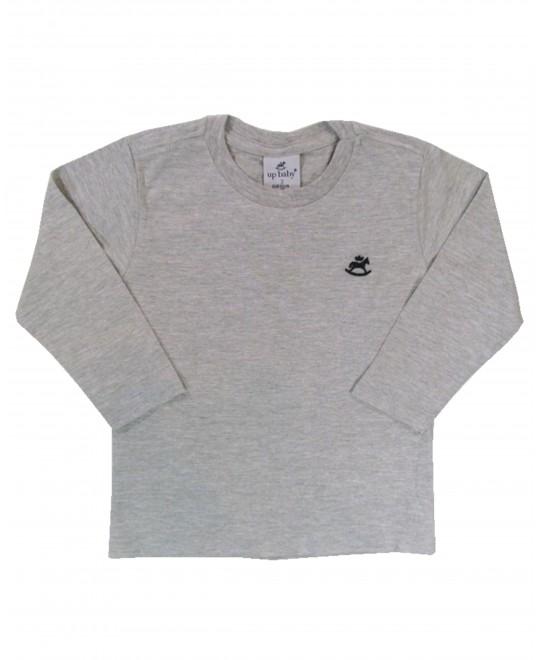 Camiseta Infantil Básica Mescla - Up Baby