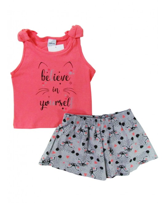 Conjunto Infantil Believe in Yourself - Rovitex
