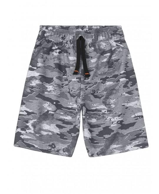 Bermuda Militar Camuflada Cinza - Trick Nick