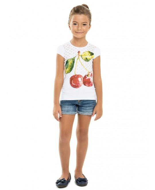 Blusa Infantil Big Cherry - Minore