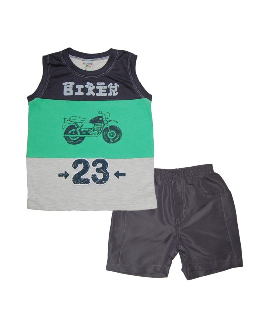 Conjunto Infantil Regata Biker - Have Fun