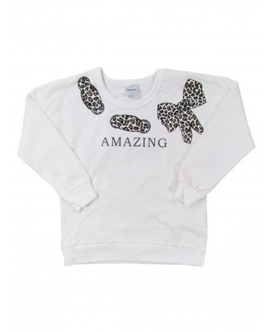 Blusão Infantil Feminino Amazing  - Rovitex