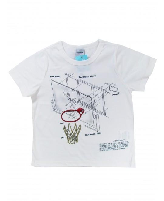 Camiseta Infantil Masculina Bask Board - Rovitex