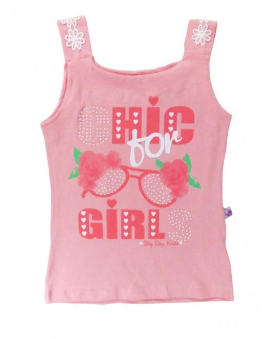 Blusa Infantil Regata Chic Girl  - Big Day
