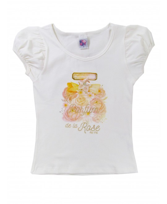 Blusa Infantil Le Parfun de la Rose - Big Day