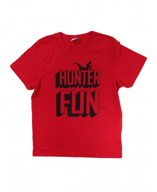 Camiseta Infantil Masculina Hunter Fun - Rovitex