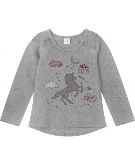 Camiseta Manga Longa Menina Little Stars - Rovitex