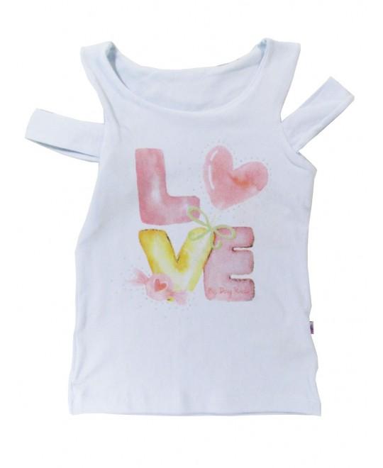 Blusa Infantil Menina Love  - Big Day
