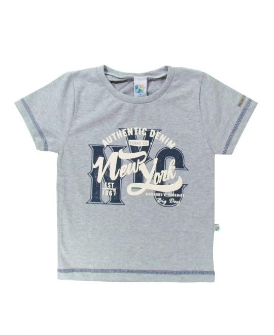 Camiseta Infantil Authentic Denim - Big Day