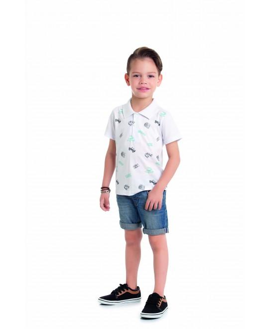 Camiseta infantil Gola Polo Travel - Alenice