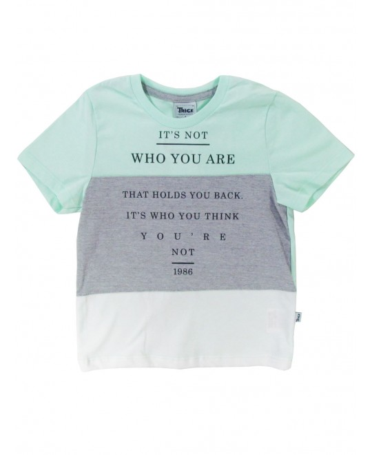Camiseta Infantil Who You Are - Trick Nick