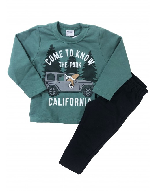 Conjunto Infantil Inverno California - Rovitex