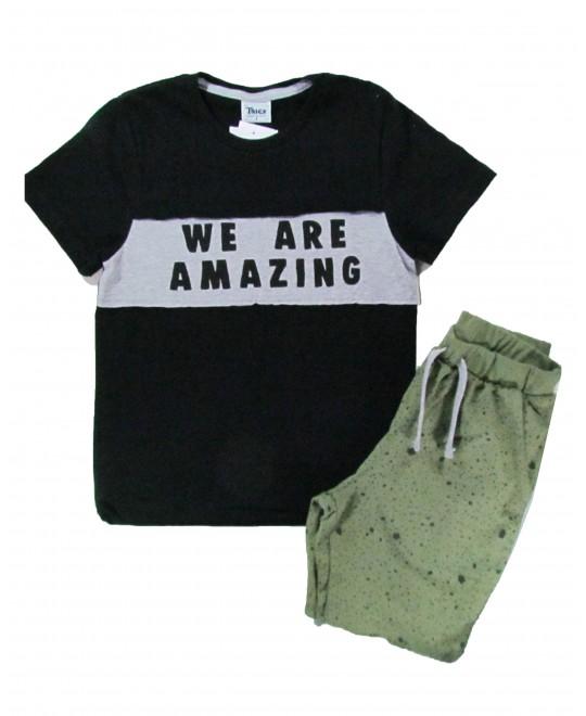 Conjunto Infantil  We Are Amazing - Trick Nick
