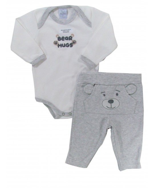 Conjunto Bebê Menino Bear Hugs  - Piu Piu