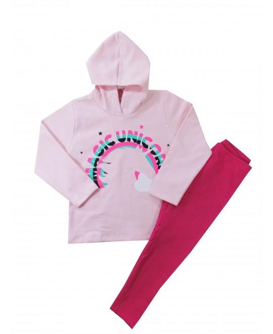 Conjunto Infantil Feminino Magic Unicorn - Rovitex