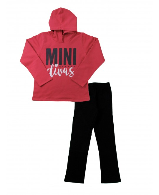 Conjunto Infantil Feminino Mini Divas - Rovitex
