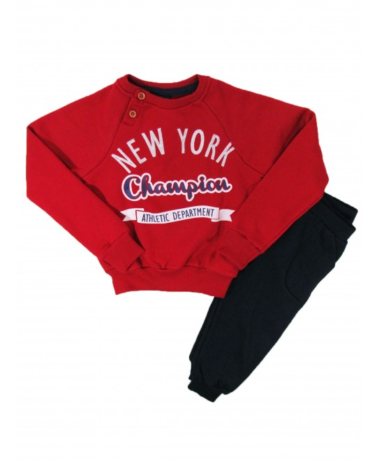 Conjunto Infantil New York Champion - Dente D' Leão