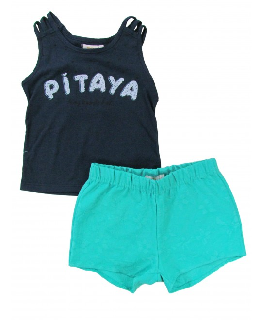 Conjunto Infantil Feminino Pitaya - Trick Nick