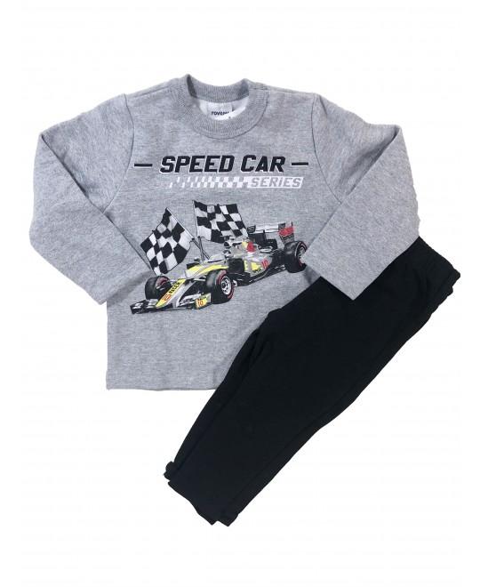 Conjunto Infantil Inverno Speed Car - Rovitex