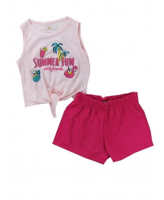 Conjunto Infantil Feminino Summer Fun - Trick Nick