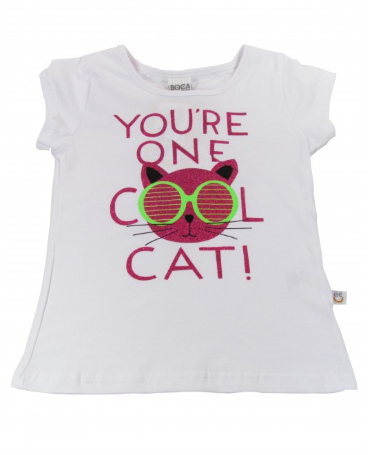 Blusa Infantil You're One Cool Cat - Boca Grande