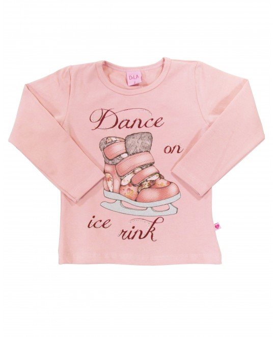 Blusa Infantil Dance on Ice Rink - Dila