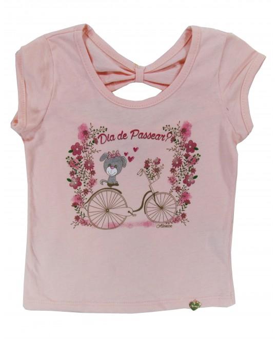 Blusa Infantil Dia de Passear - Alenice