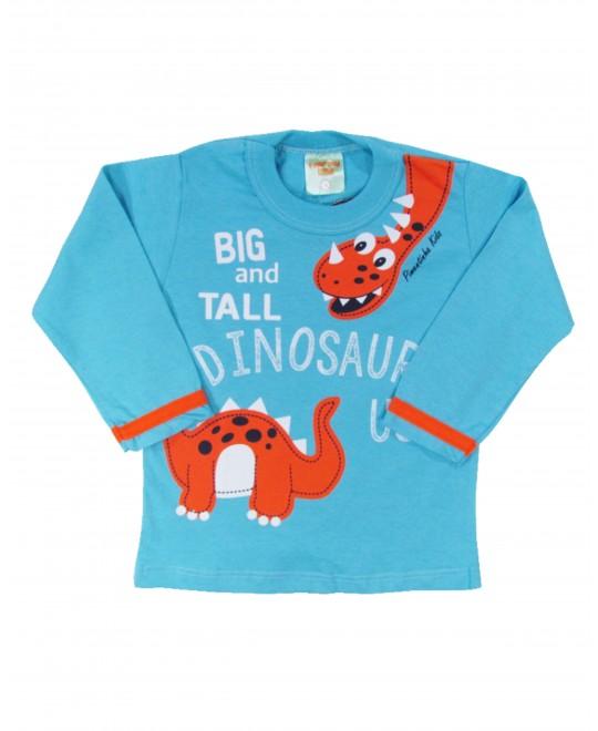 Camiseta Infantil Dinossaurus - Pimentinha