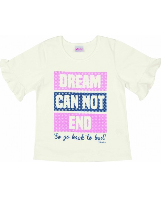 Blusa Infantil Dream Can not End - Alenice