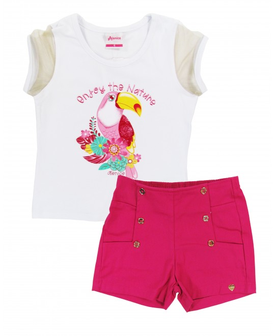 Conjunto Infantil Enjoy the Nature - Alenice