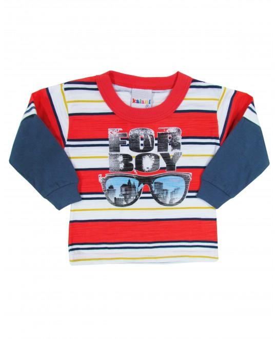 Camiseta Infantil For Boy - Kaiani