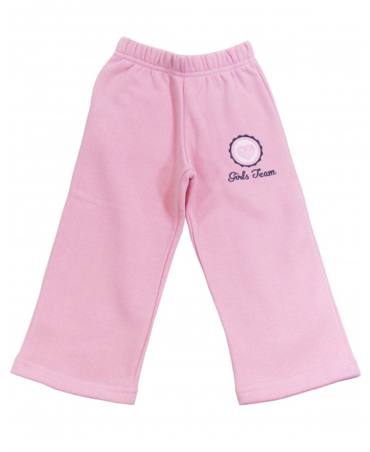 Calça Infantil de Moletom Girls Team - Vrasalon
