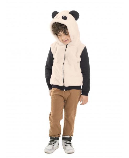 Jaqueta Primeiros Passos Interativa Panda - Minore