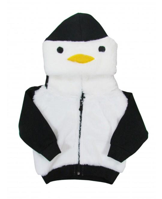 Jaqueta para Bebê Interativa Pinguim - Minore
