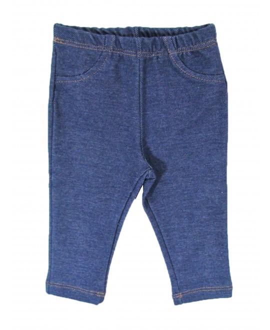 Legging em Malha Jeans para Bebê - Piu Blu