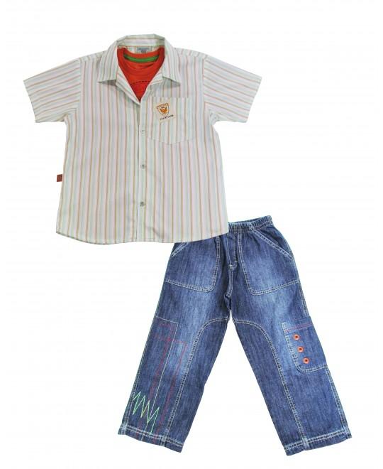 Conjunto Infantil Kids Jeans Urban - Banana Danger