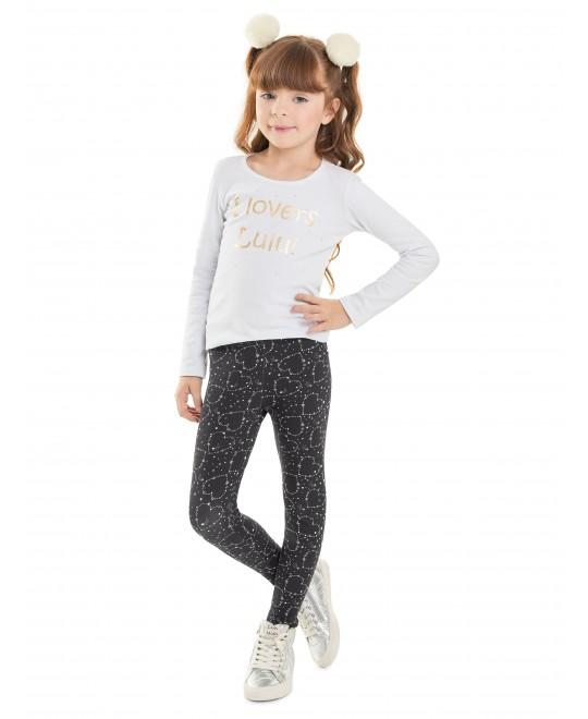 Legging Infantil  Molecottom Estampado - Minore