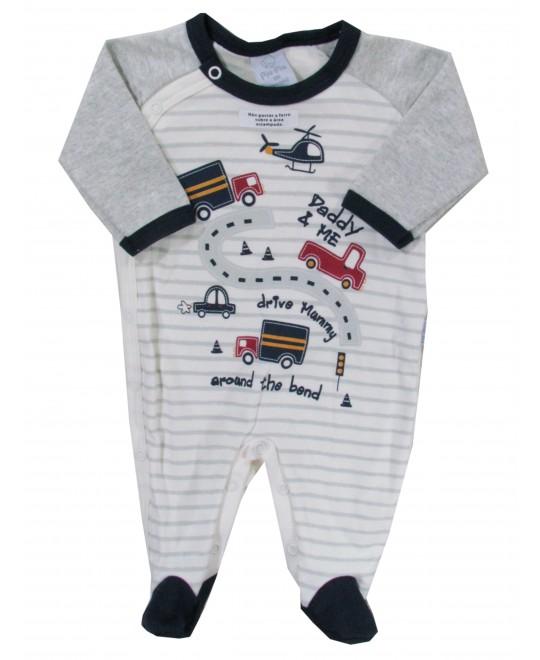 Macacão Longo Bebê Daddy e Me - Piu Piu