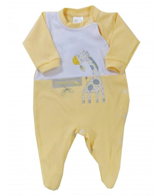 Macacão Bebê Longo Girafa - Hira-imi