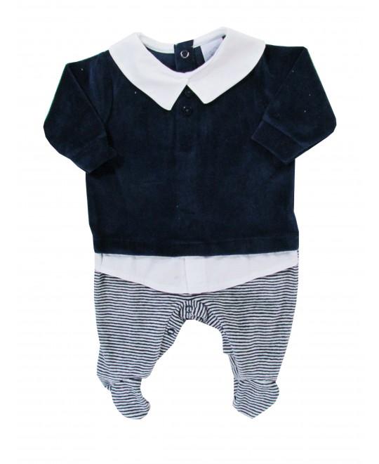 Macacão Bebê Menino Camisa/ Suéter - Piu Piu