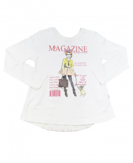 Blusa Infantil Magazine - Cativa