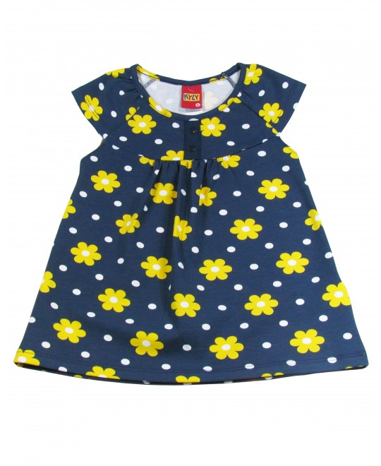 Blusa Infantil Margaridas - Kyly