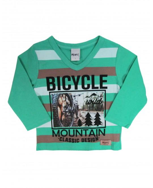 Camiseta infantil Bicycle Mountain - Minore