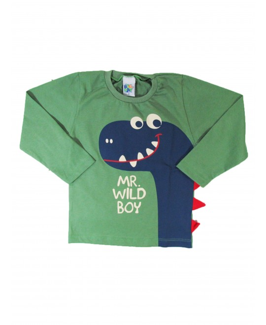 Camiseta Infantil Mr Wild Boy - Big day