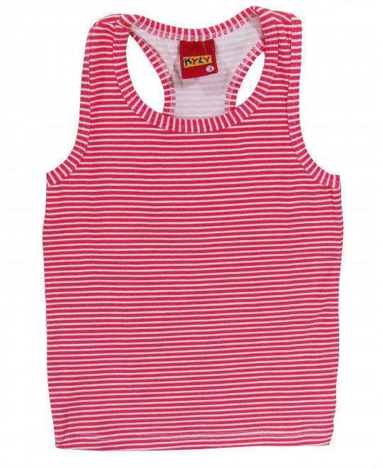 Camiseta Infantil Nadadora Listrada - Kyly