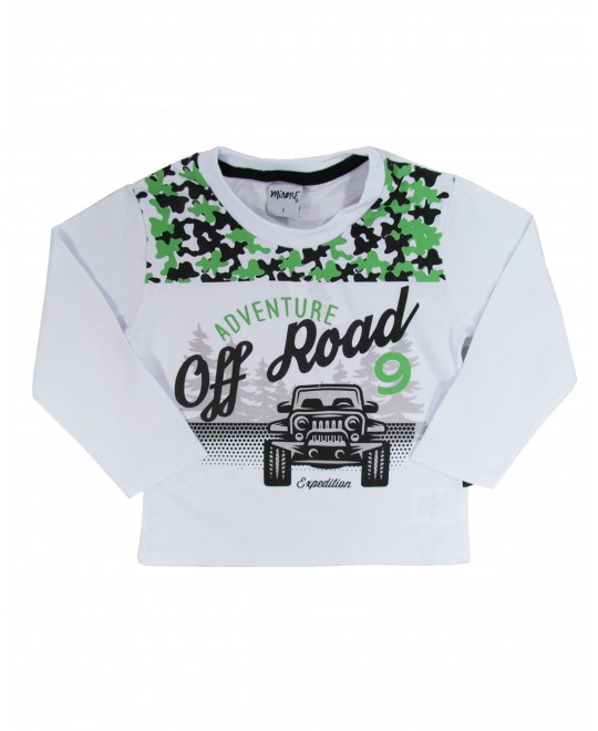 Camiseta infantil  Adventure off Road - Minore