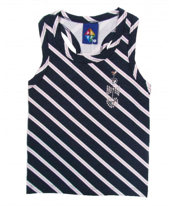 Blusa Infantil Regata Listrada Diagonal - Pipa