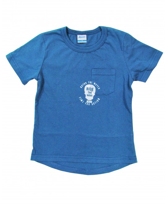 Camiseta Infantil Ride The Wave - Anelice